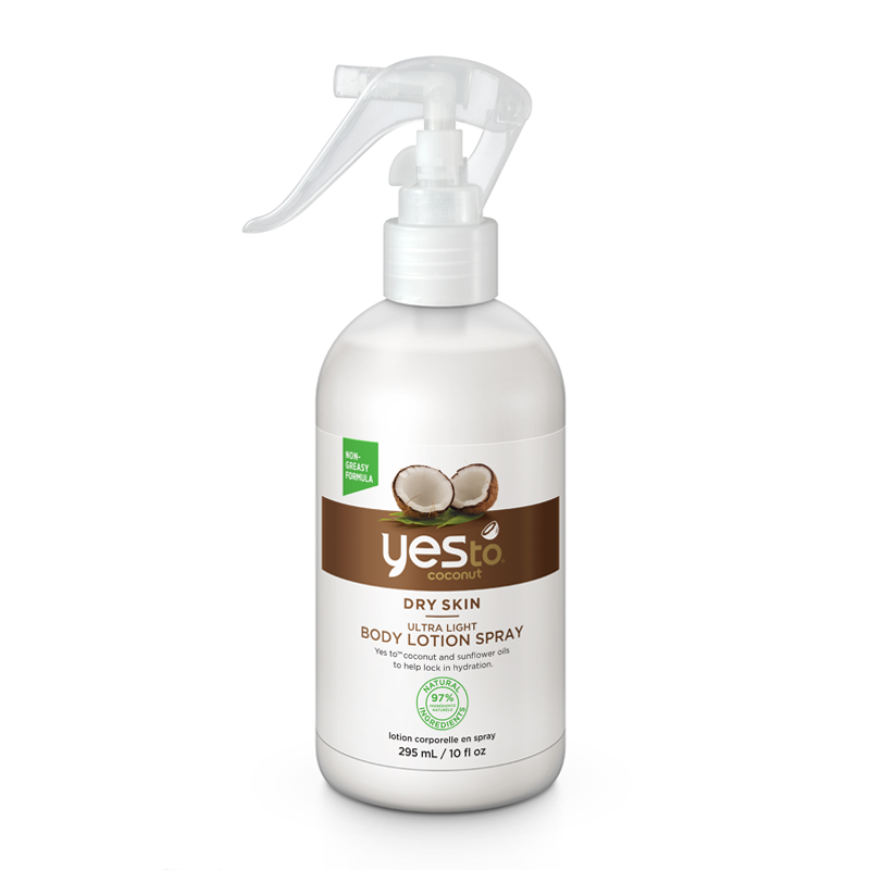 Yes To Coconut Ultra Light Body Lotion Spray 295ml - feelunique.com