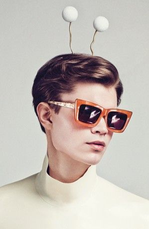 52306bb3353eb Sunglasses 2014, Karen Walker Sunglasses, Vogue China, Eye Glasses, Glasses  Style,