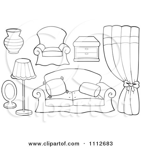 Living Room Coloring Page Of Table Felt Quiet Books Quiet Book