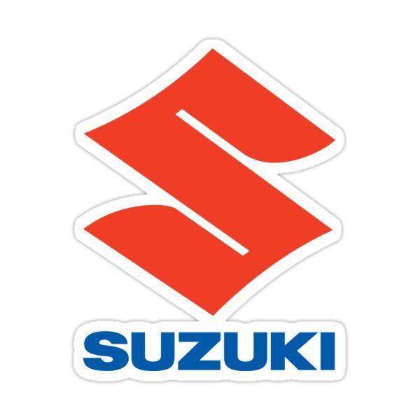 Suzuki Logo Sticker By Thraster In 2021 Suzuki Logo Sticker Vinyl Decal Stickers