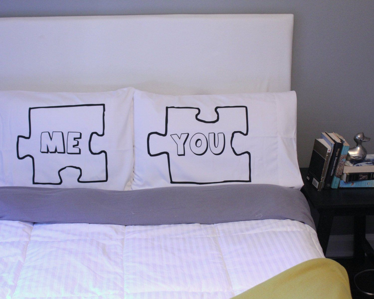 Oh Susannahs Puzzle Piece Couple Pillowcases Wedding Gift Couple