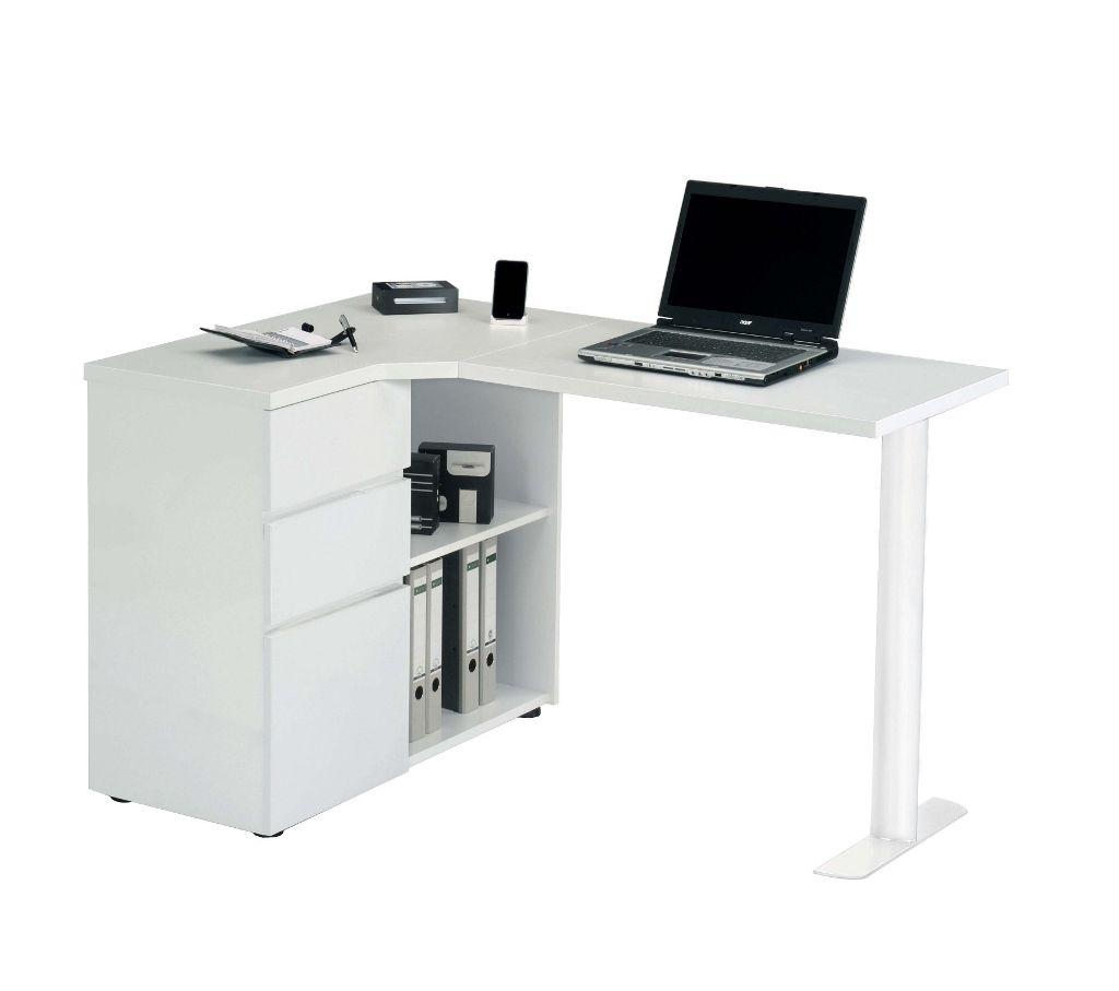 Corner Desk White Gloss - Best Home Office Desk Check more at http ...
