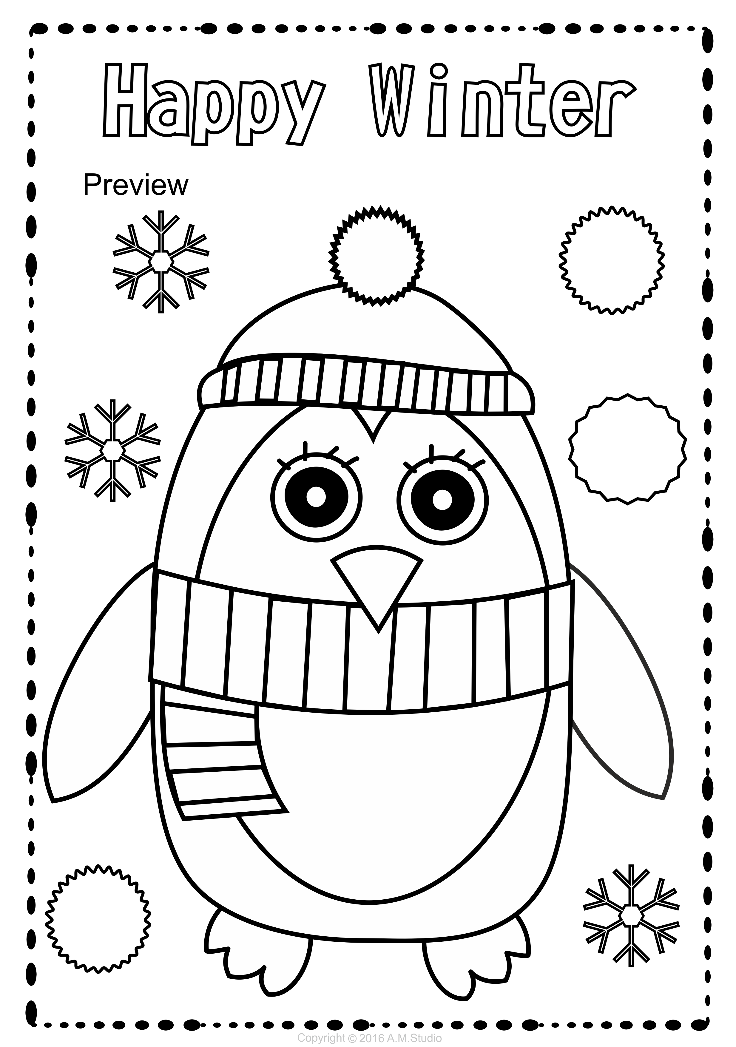 This Winter Coloring Pages Activity Includes 25 Different Coloring Worksheets Use These As A Fun Activity Winter Crafts Preschool Coloring Pages Winter Crafts