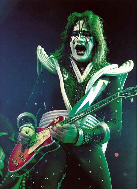 Ace Frehley Kiss Lightning Bolt Guitar Strap Ace Frehley Ace