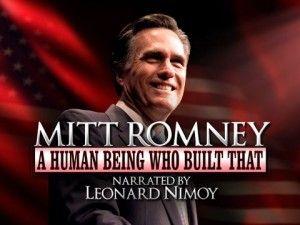 "I love you, Jon Stewart. ""Mitt Romney - A Human Who Built That"""