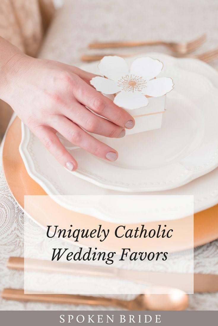 Unique Catholic Wedding Favor Ideas. | Catholic Wedding Inspiration ...