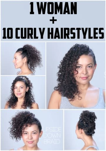 10 Hairstyles For Curly Hair You Need To Try Asap Hair Pinterest