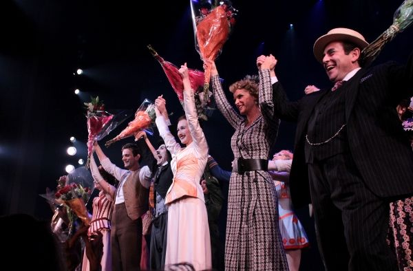 Photo Coverage Chaplin Opening Night Curtain Call On Broadway Opening Night Curtain Call Chaplin