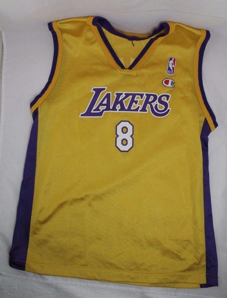 3dc3a94ec2c Los Angeles Lakers  8 Kobe Bryant Adidas Jersey 36