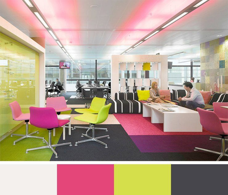 Lovely Office E Color Schemes Colour The Significance Of In Design 30 Interior