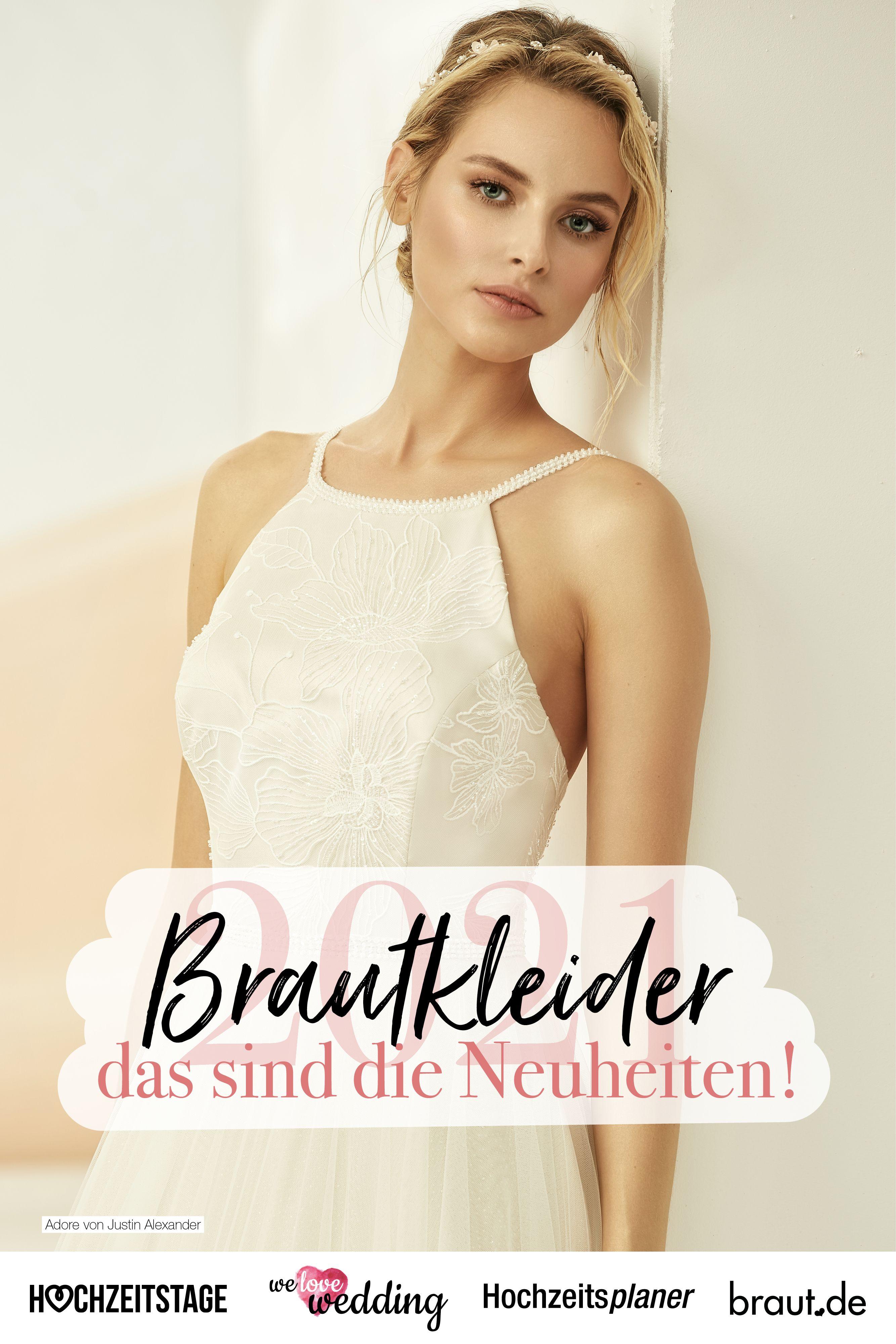 Du wirst nächstes Jahr heiraten? Dann darfst du schon jetzt auf die neuen Brautkleidertrends und die aktuellen Saisonkleider für das Jahr 2021 gespannt sein! Die Brautkleider versprechen Abwechslung und bieten tolle Highlights. #brautkleid #hochzeitkleid #hochzeit2021 #brautstyling #brautoutfit #brautkleider2021 #braut2021