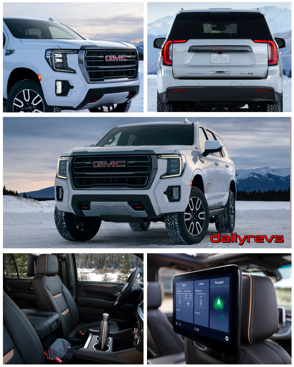 2021 Gmc Yukon At4 Hd Pictures Videos Specs Information In 2020 Gmc Vehicles Gmc Yukon Gmc