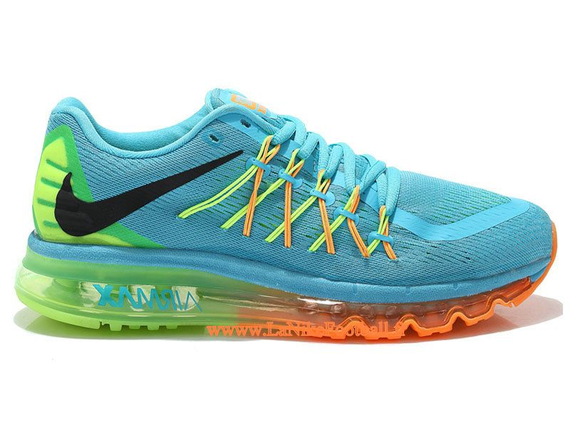 new arrival 9dc6e 16f81 Nike Air Max 2015 Chaussures De Running Nike Pas Cher Pour Homme Blue