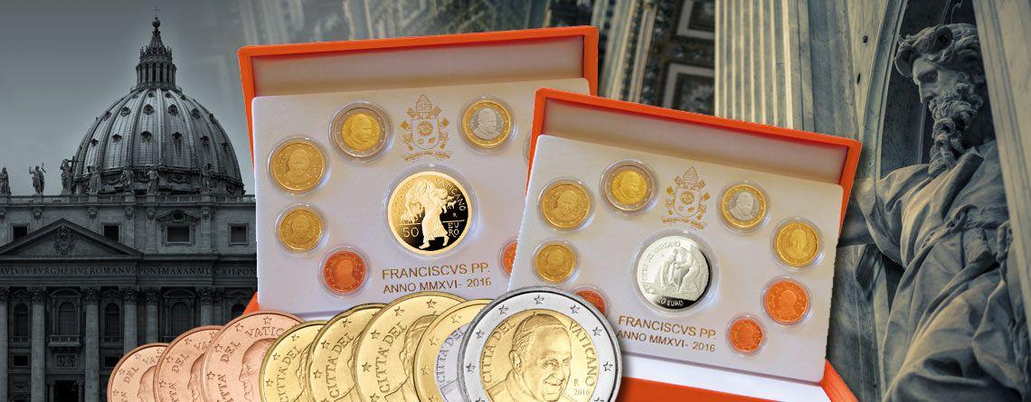 Vatikan Euro Raritäten 2016 Für Sammler Die Offiziellen Euro
