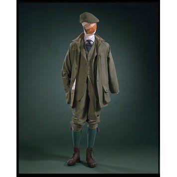Hackett shooting suit.