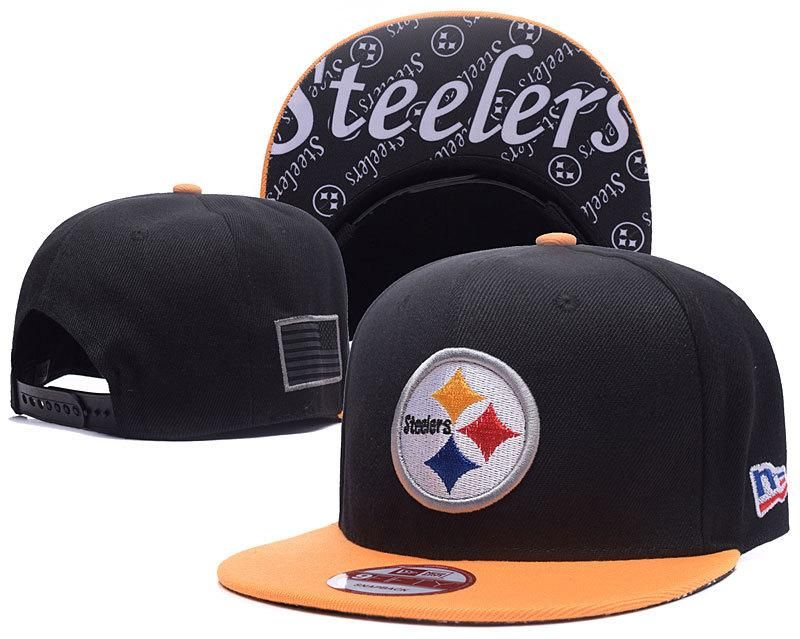 wholesale dealer a23d4 8e901 Men s Pittsburgh Steelers New Era 9Fifty NFL Crafted in America Snapback Hat  - Black   Gold