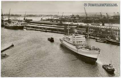 1962. Docks of the KNSM in Amsterdam. #amsterdam #1962