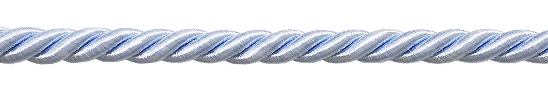 """3/8"""" LARGE LIGHT BLUE COLOR DECORATIVE CORD, Basic Trim Collection, Style# 0038NL Color: Artic Blue - N14, Sold by The Yard"""