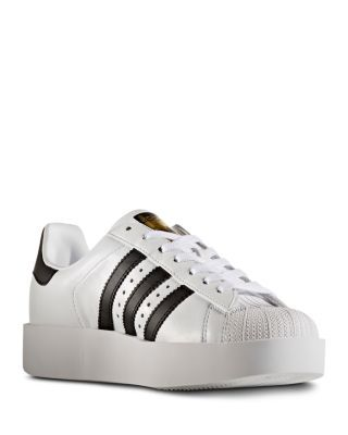 be2a0b5c2f97 ADIDAS Women s Superstar Bold Platform Lace Up Sneakers.  adidas  shoes