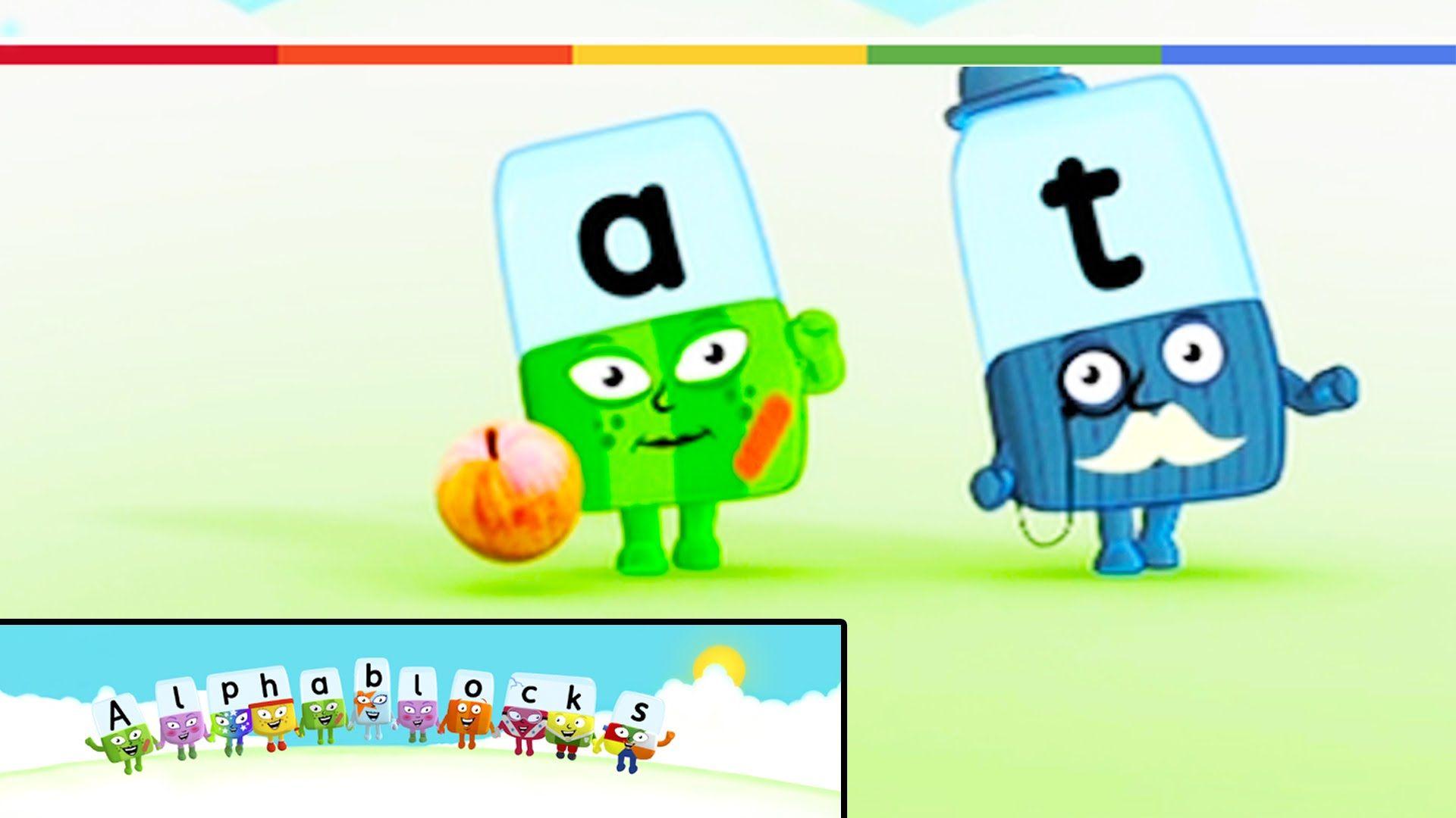 Alphablocks The Alphabet Learn The Sounds Of The Alphabet With Alphablocks