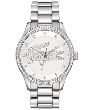 Lacoste Watch, Women's Victoria Stainless Steel Bracelet 40mm 2000826 - Lacoste - Jewelry & Watches - Macy's