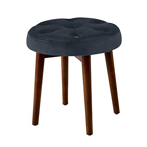Strange Efd Small Tufted Stool Padded Round Sitting Step Foot Stool Theyellowbook Wood Chair Design Ideas Theyellowbookinfo