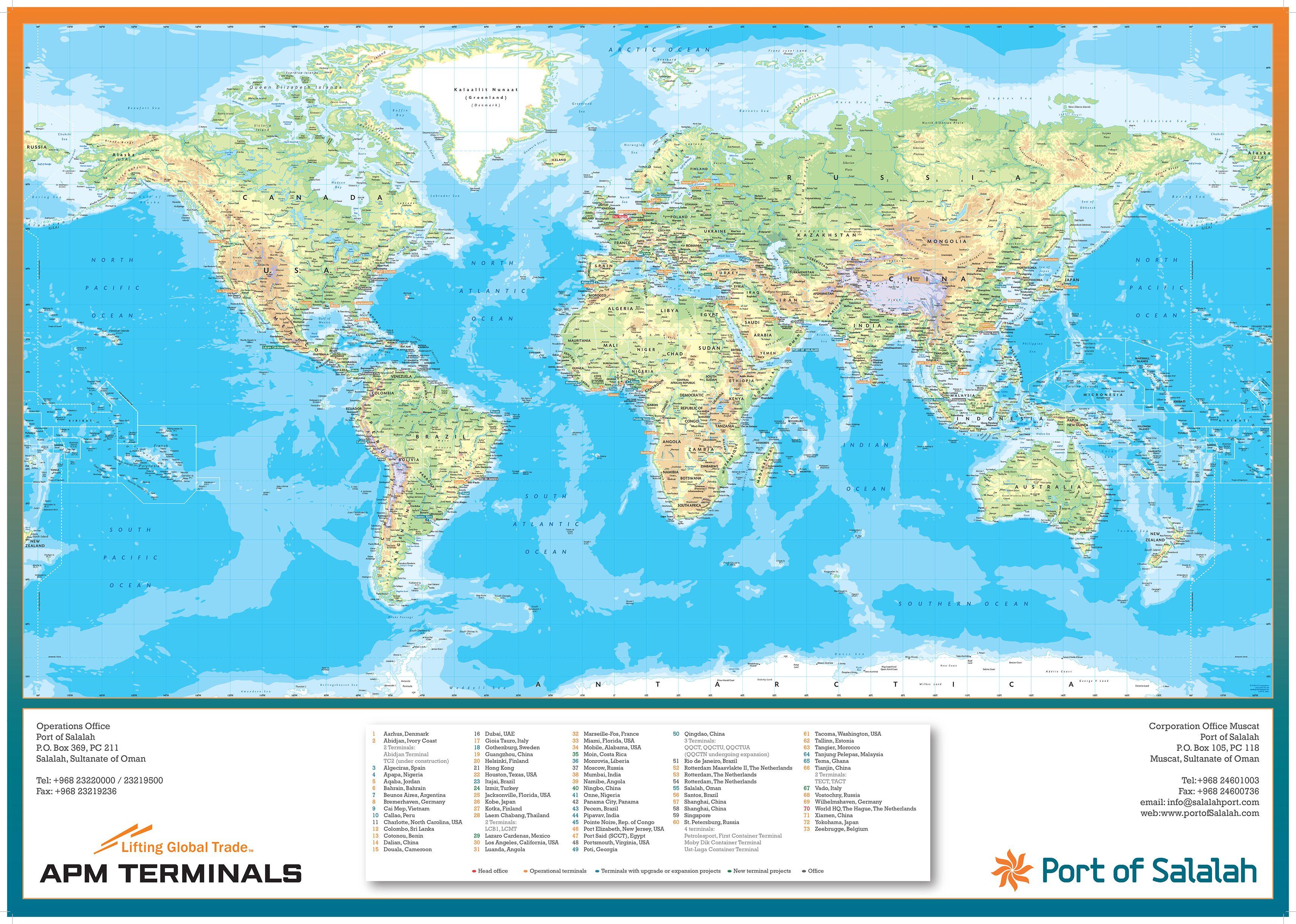 Port of Salalah World Poster Map Posters Pinterest Salalah
