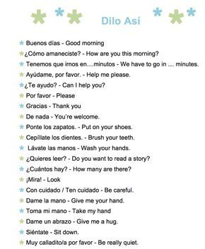 61 Common Spanish Phrases to Use With Kids: A Printable List - Spanish Playground