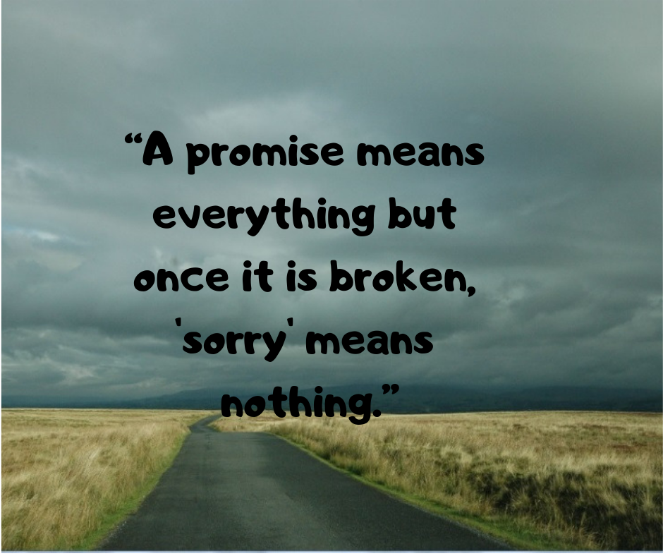 10+ Promise status for Whatsapp | Promise quotes, Broken promises quotes,  Life quotes