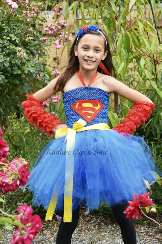 Halloween costumes · Superwoman tutu  sc 1 st  Pinterest & Superwoman tutu | With an S On My Chest... | Pinterest | Tutus