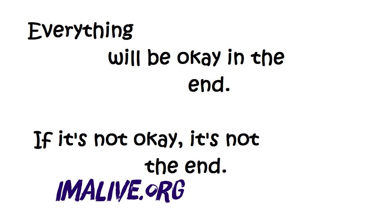 IMAlive.org | Suicide Prevention