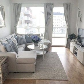 Inspiring apartment living room ideas (33) images