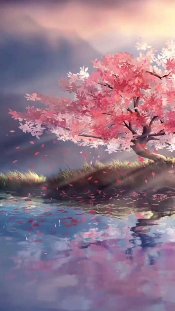 Hình nền động Anime phong cảnh
