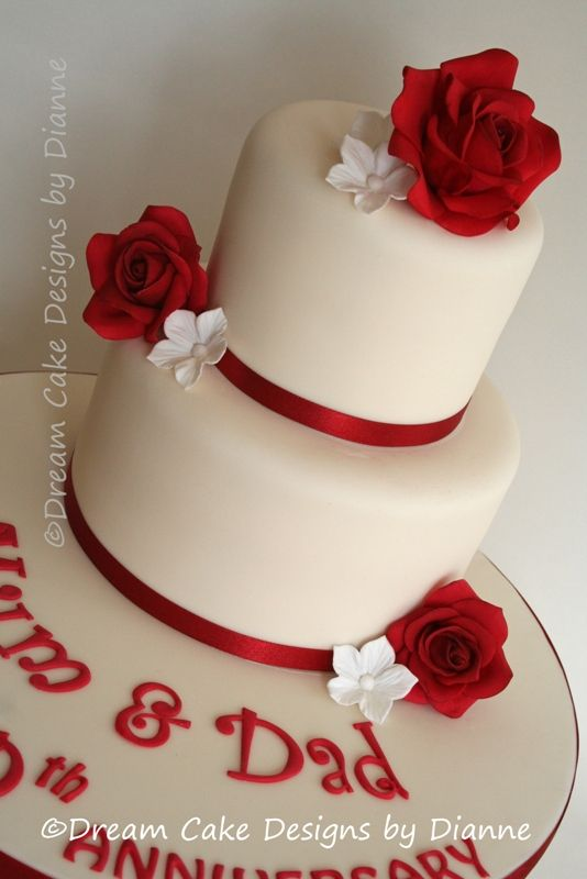 Ruby Wedding Cakes