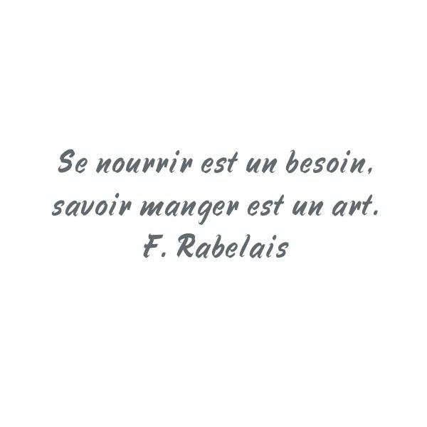 Populaire sticker-citation-rabelais.jpg (600×600) | La Cuisine | Pinterest VZ01