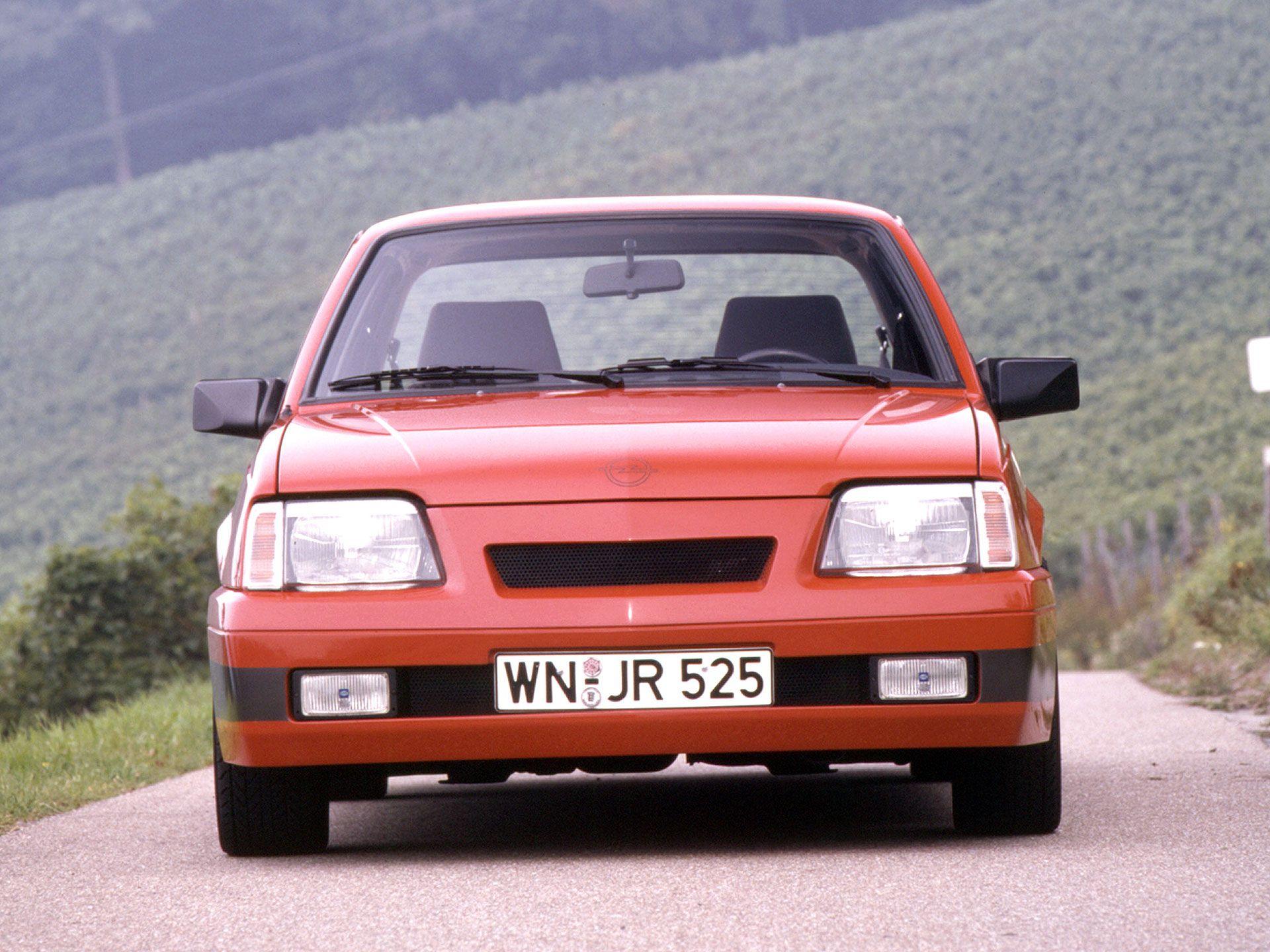 Alter Spint 1987 irmscher opel ascona c sprint cars