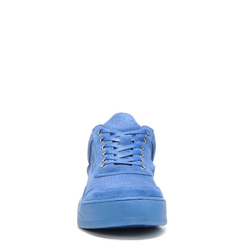 GBX Men's Fergus Mid Top Sneakers (Blue Suede)