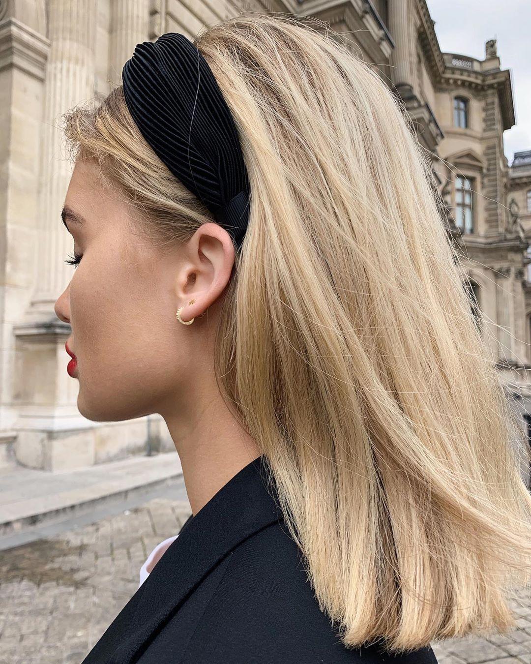 Viktoria J Hutter On Instagram Blind For Love Headbandhairstyles Viktoria J Hutter On Instagram Blind For Love Frisur Ideen Haar Styling Haare