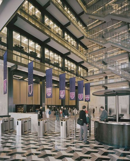 Elmer Holmes Bobst Library At New York University, New York City, New York (