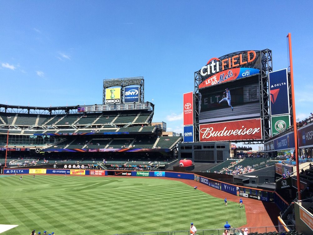My first Mets game at Citi Field (With images) Queens