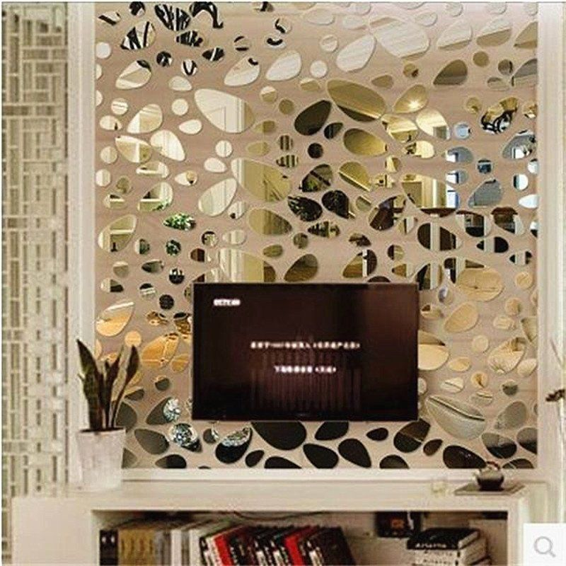 12pcs/set 3D Mirror Wall Stickers | Wall sticker, 3d and Walls