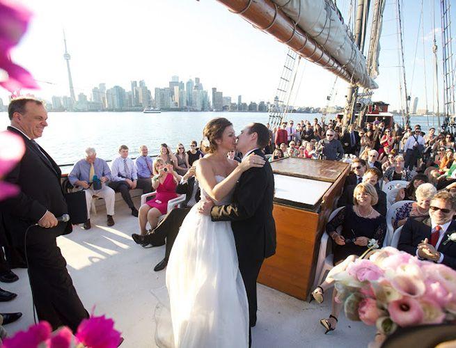 Schooner Wedding
