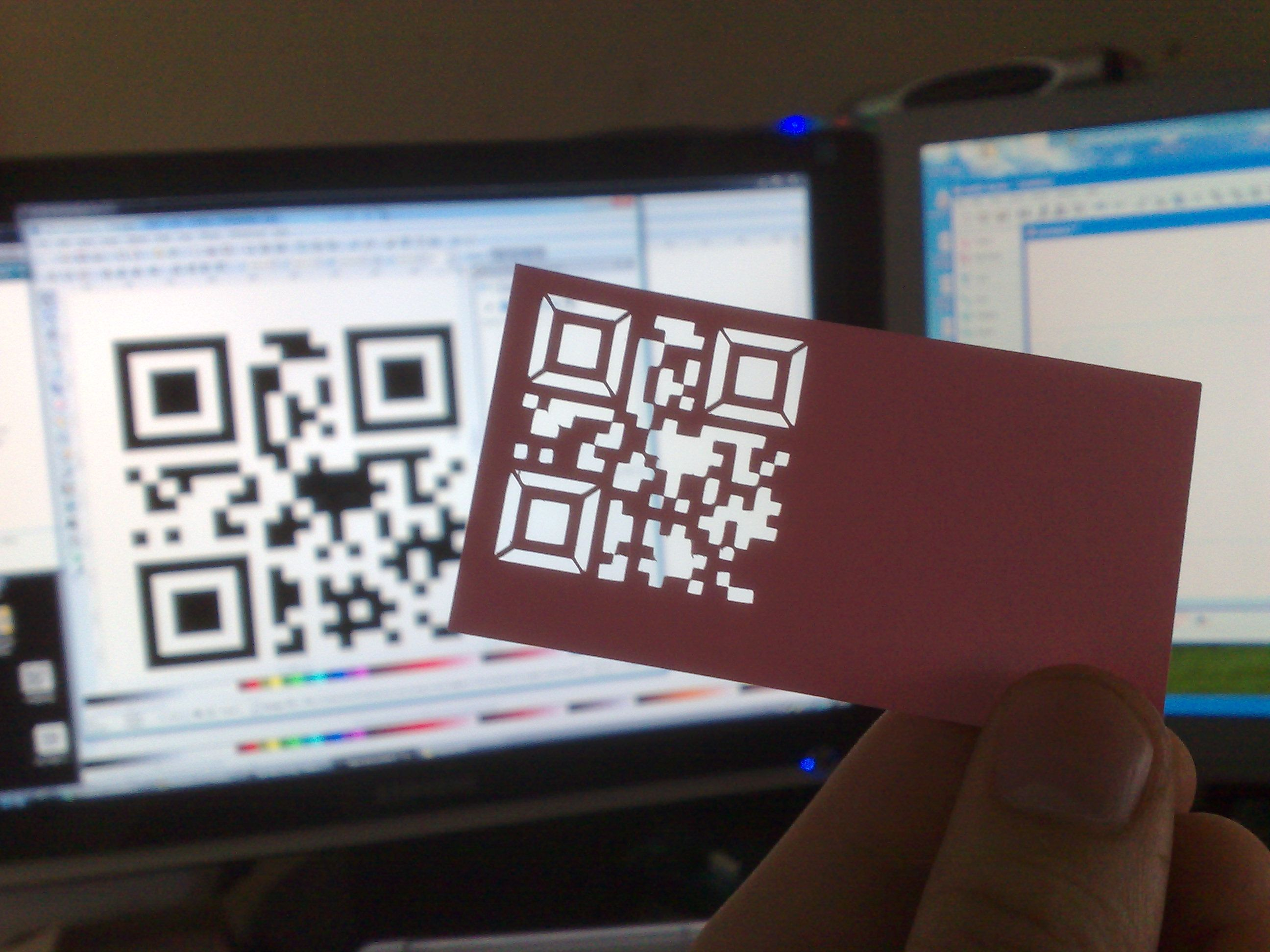 Creative QR Codes Carte De Visite Design