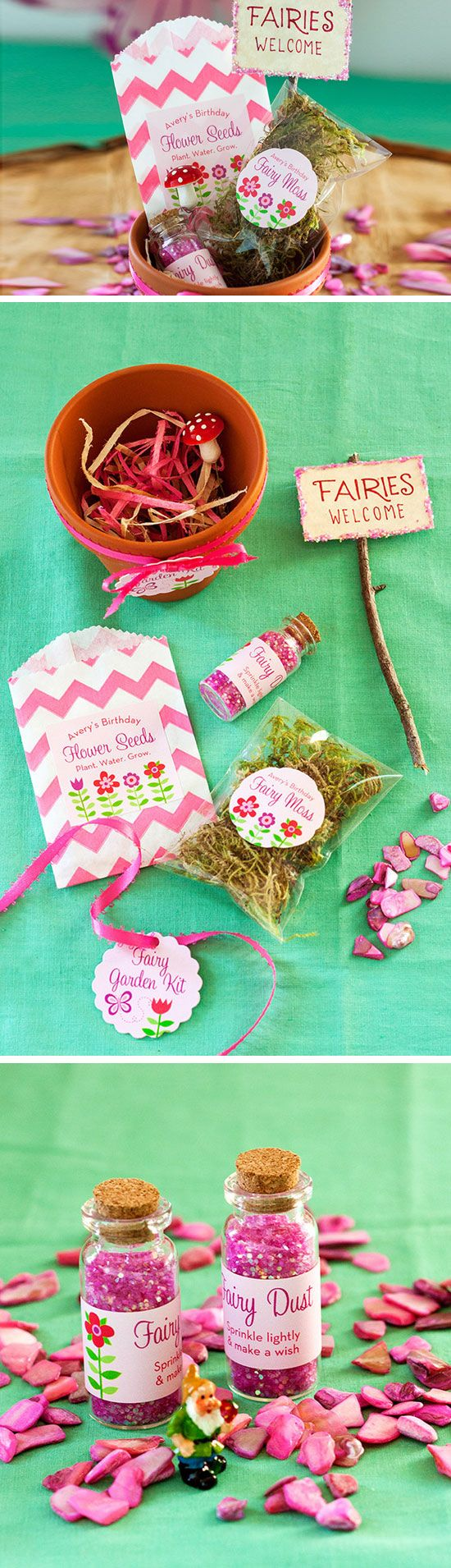 17 DIY Birthday Party Favors for Girls | DIY Birthday, Handmade baby ...