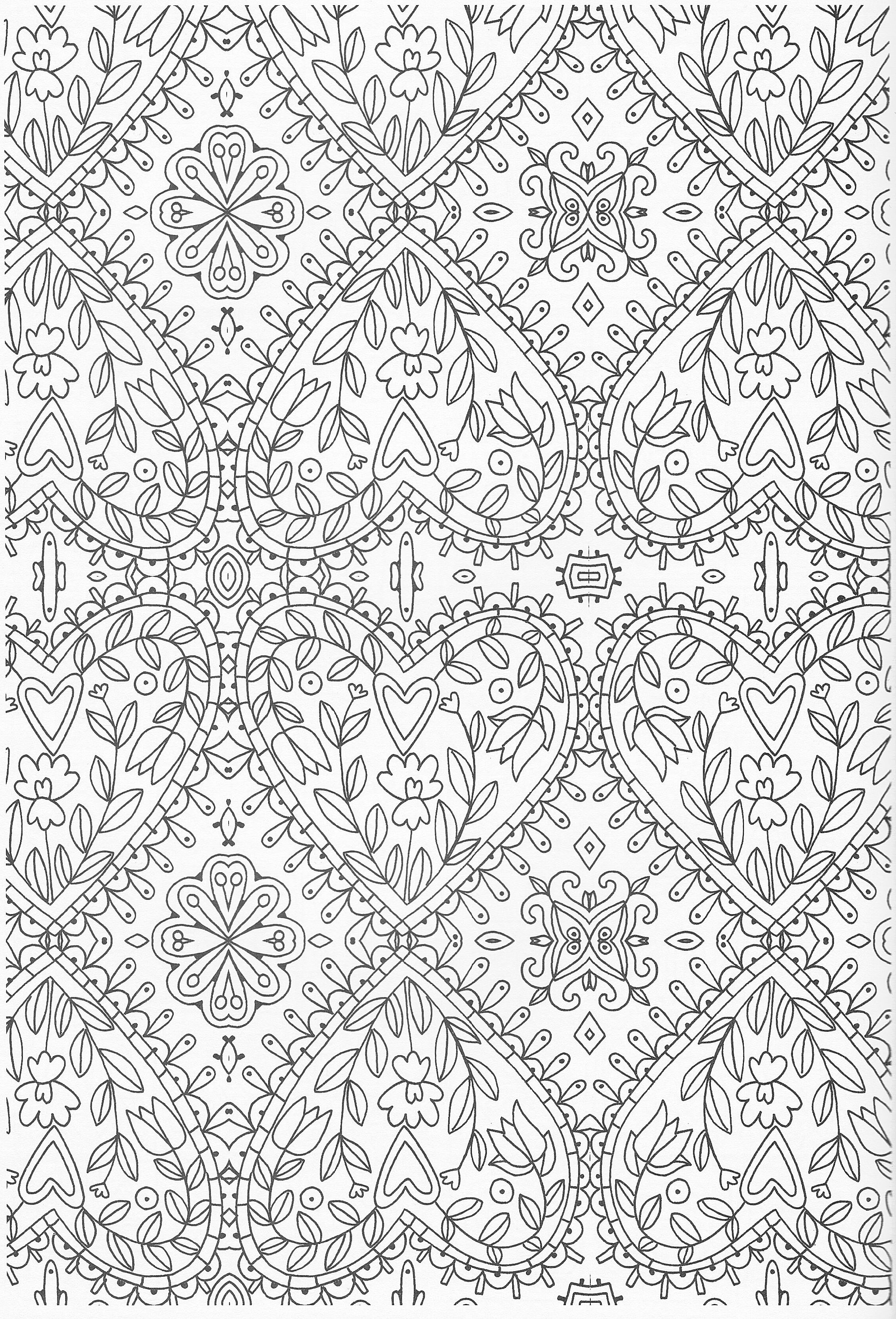 Scandinavian Coloring Book Pg 50 | Color pages, Stencils, Templates ...