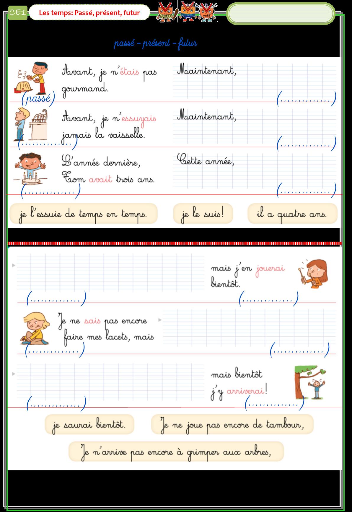 Etude De La Langue Ce1 : etude, langue, Etude, Langue, RSSEG, Exercice, Grammaire