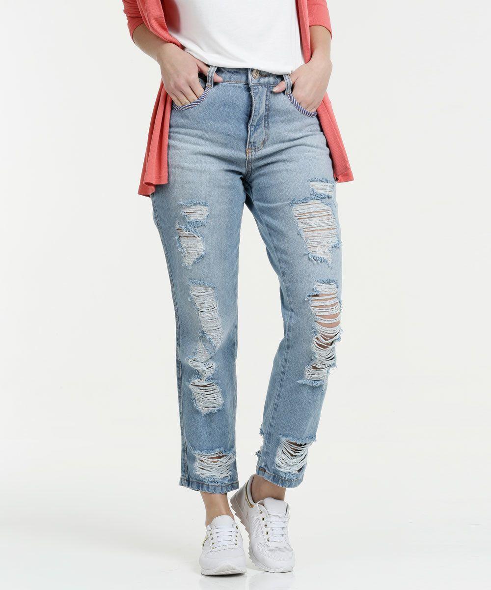5d2d3d102 Calça Feminina Mom Jeans Biotipo | Jeans Feminino | Jeans, Mom jeans ...