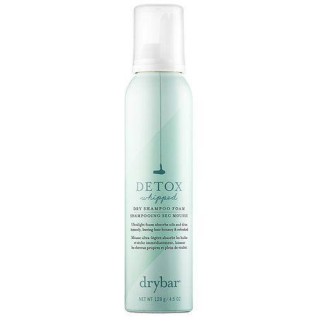 Detox Whipped Dry Shampoo Foam Drybar Sephora Dry Shampoo Shampoo Dry Shampoo Hairstyles