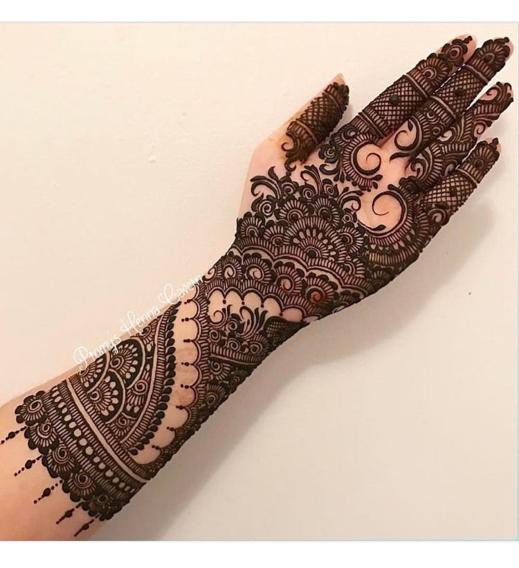 Indian Bridal Henna Designs: Pinterest // @alexandrahuffy ☼ ☾