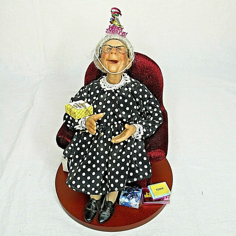 Nana's Family Richard Simmons Happy Birthday Doll Grandma